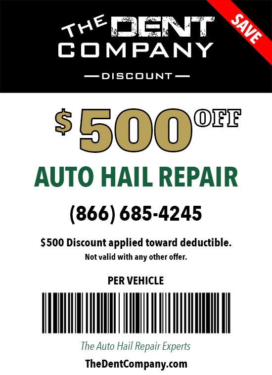 The DentCo Auto Hail Repair Deductible